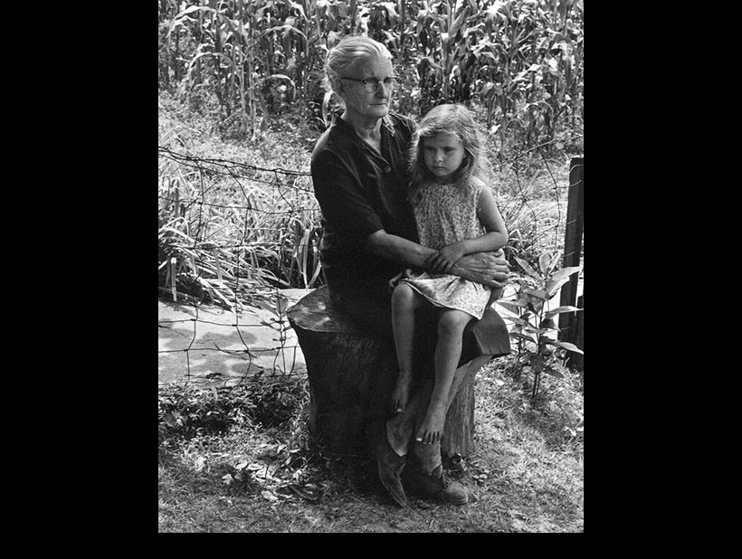 Mae Phillips and her Granddaughter Jeanie